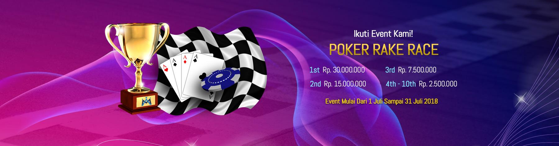 Poker Rake Race