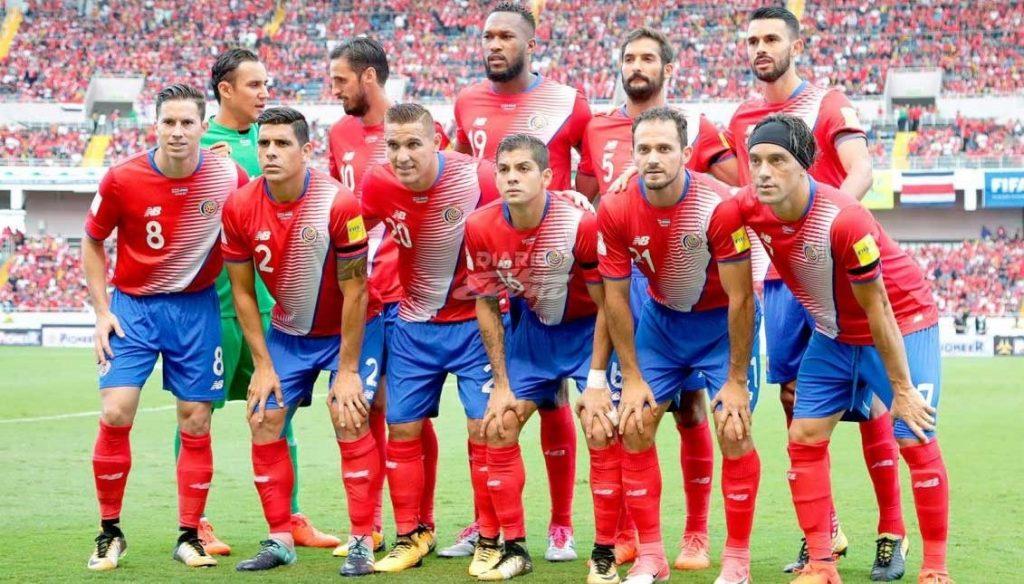 Tim Sepakbola Nasional Kosta Rika dalam Ajang Piala Dunia Rusia 2018