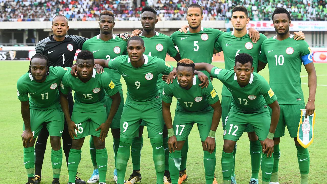 Tim Sepakbola Nasional Nigeria dalam ajang Piala Dunia Rusia 2018