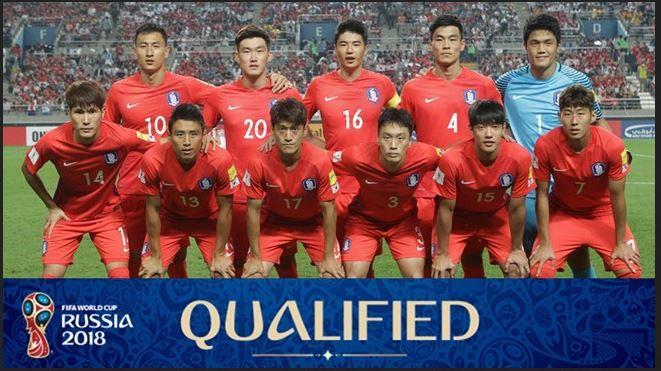 Foto Kualifikasi Tim Sepakbola Nasional Korea Selatan pada Ajang Piala Dunia Rusia 2018