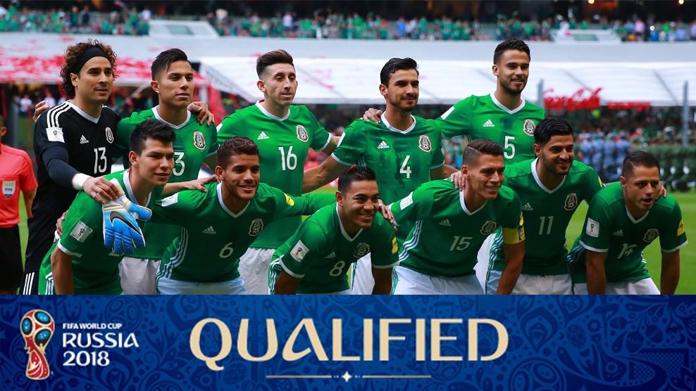 Foto Klub Sepakbola Internasional Meksiko - Piala Dunia Rusia 2018