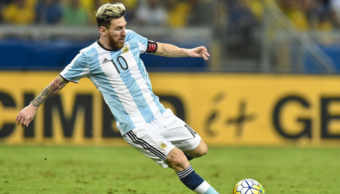 Lionel Messi Bermain untuk Argentina di Ajang Piala Dunia Rusia 2018