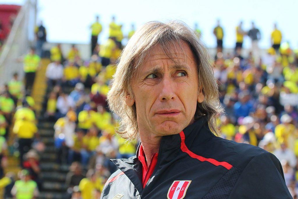 Ricardo Gareca Pelatih Tim Sepakbola Peru